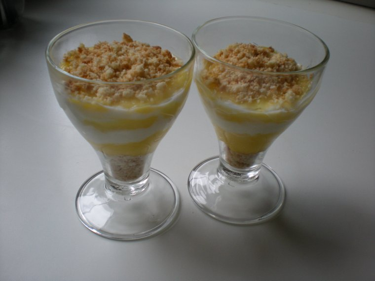 Verrine Lemon Curd