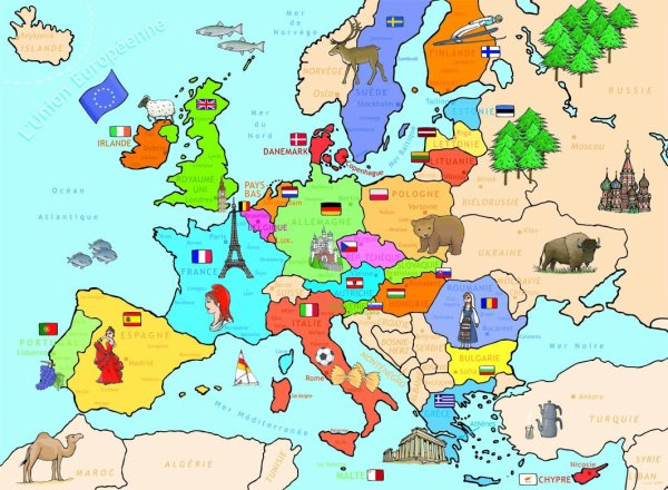 Loterie 13 : Pays d'Europe