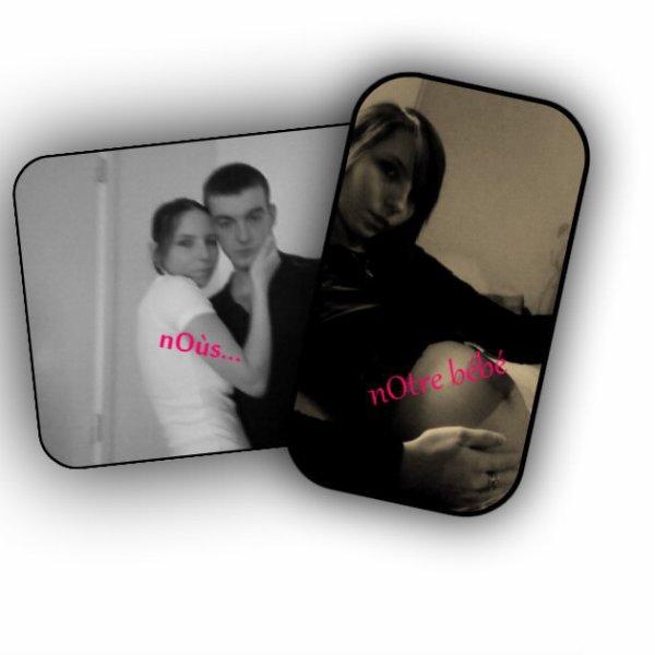 moi enceinte de mon fils et mon homme