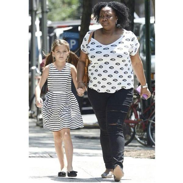 Sortie de SURIRUISE avec sa nounou le 10/07/2015