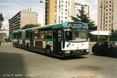 bus 105 en 1997 blog de ratp bus. Black Bedroom Furniture Sets. Home Design Ideas