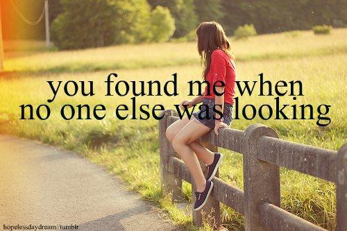 You found me.