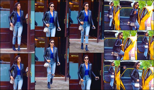- '-16/05/18-'◘Nina Dobreva a été aperçue alors qu'elle se trouvait dans les célèbres rues de New-York City. C'est dans une tenue magnifique, simple mais pourtant superbe, que nous retrouvons Nina. Elle était juste superbe, un gigantesque top. -