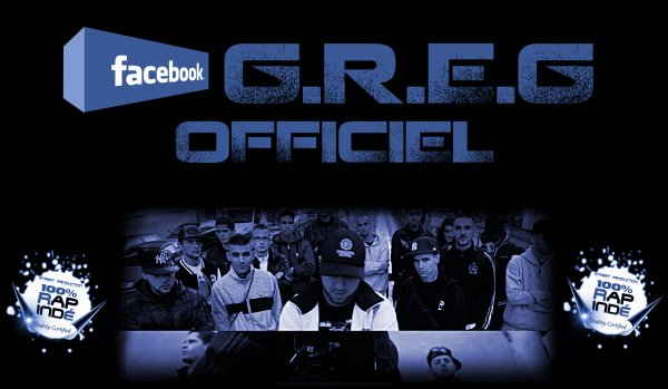PAGE FAN FACEBOOK : G.R.E.G OFFICIEL