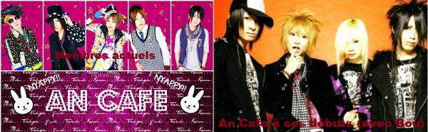 An Cafe (ou Antic Cafe) est un groupe de rock japonais d'oshare kei.