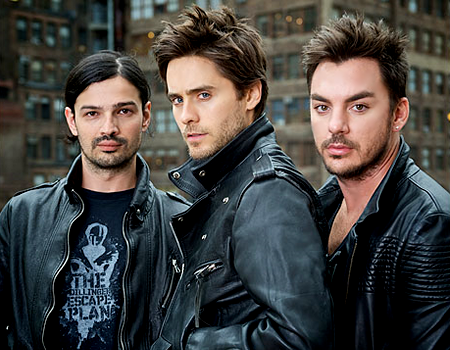 30 Seconds to Mars est un groupe de rock alternatif américains.