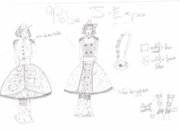 Ma robe pour la Japan-Expo