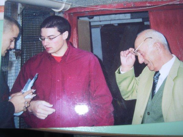 Visite chez les Cuffel en 2003