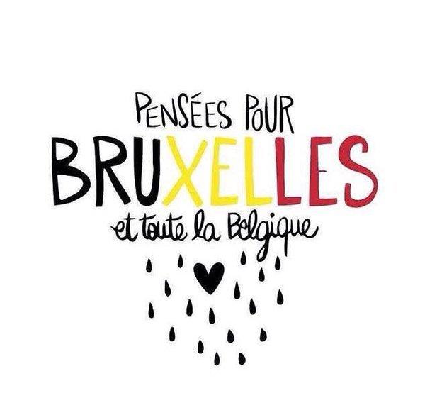 Hommage aux victimes des attentats de Bruxelles