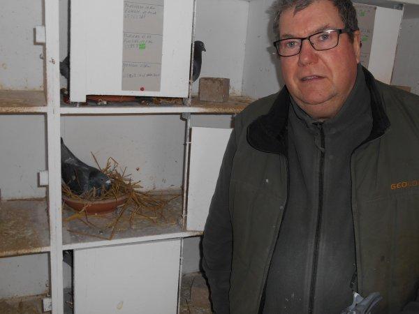 Visite chez Patrice Cholet