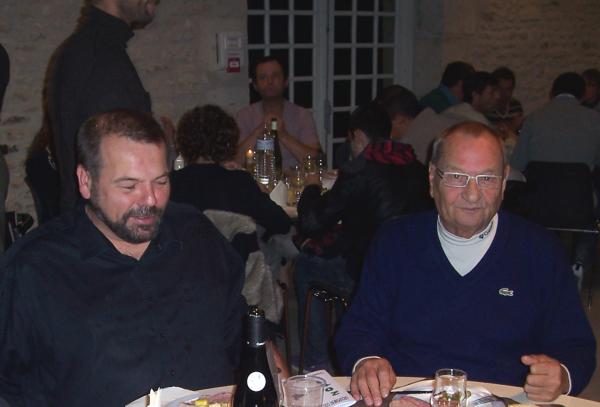 Max et Stéphane... Que de souvenirs....