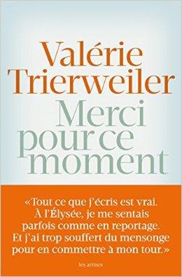 """""""Merci pour ce moment"""" : Valérie Trierweiler"""
