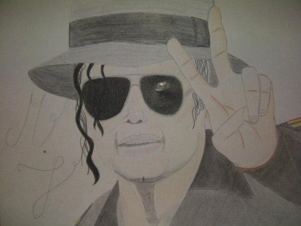 Michael Jackson finish