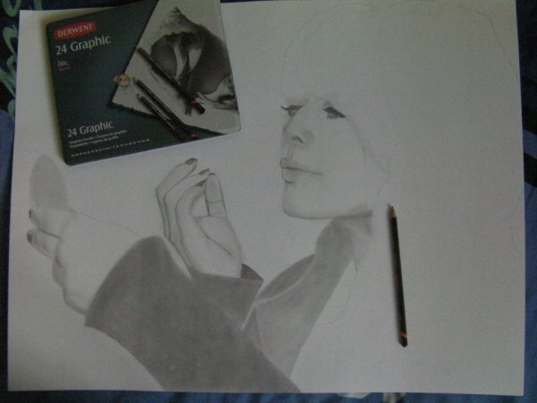Portrait de Alex Hepburn en cours