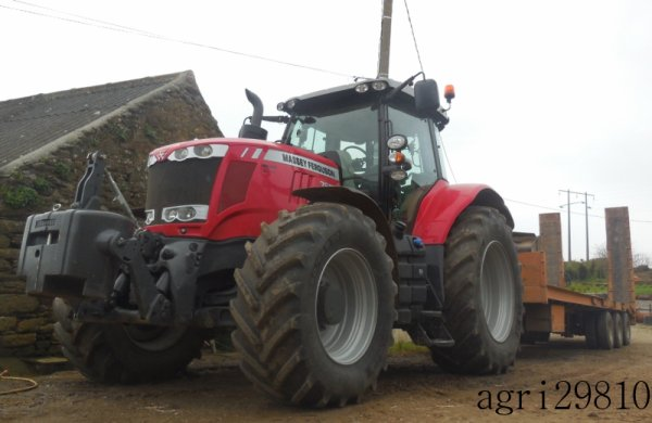 New Massey Fergusson 7620