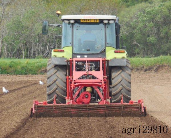 Préparation des terres à mais 2014
