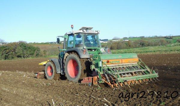 Semis de blé 2014