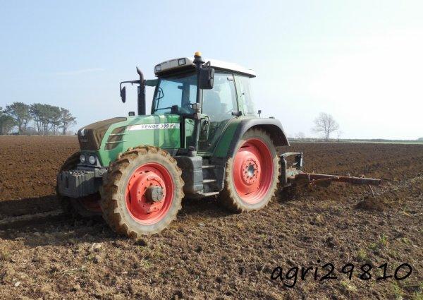 Préparation des terres à PDT 2015