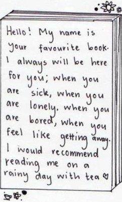 « J'ai compris que les personnages des livres habitent dans un monde différent. On peut voyager dans un livre, mais il faut accepter de revenir. »
