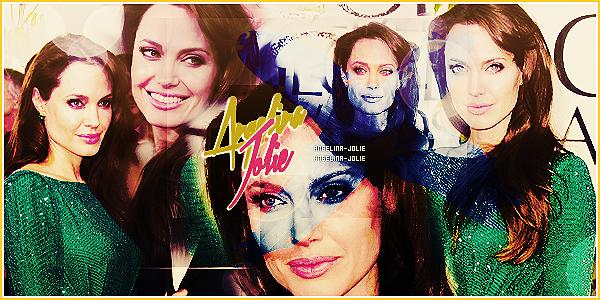_  Bienvenue sur ton unique source entièrement consacrée à la sublime Angelina Jolie !  _