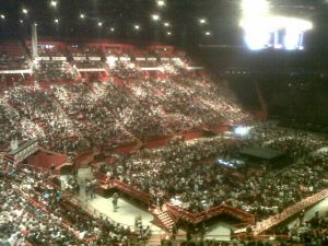Concert Paris - Bercy (avril 2013)