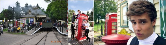 "Photoshoot ""Take Me Home"" à Henley Upon Thames"