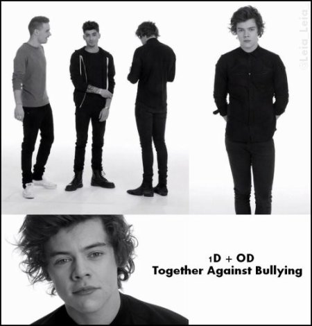 1D + OD Together Against Bullying