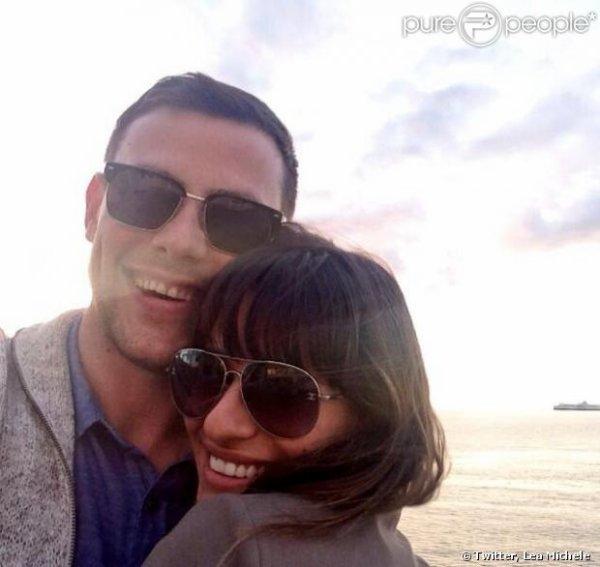Lea Michele rend hommage sur twitter à Cory Monteith <3
