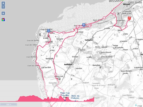 Vendredi 2 Septembre 2016 : Reco 24km du TCO