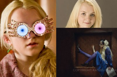 On commence par Luna Lovegood.