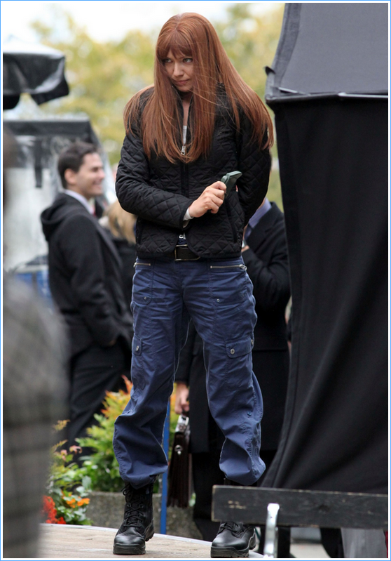 FRINGE - ON SET