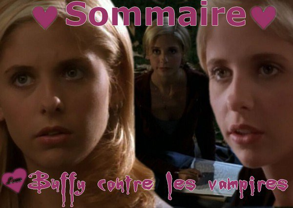 Sommaire Buffy