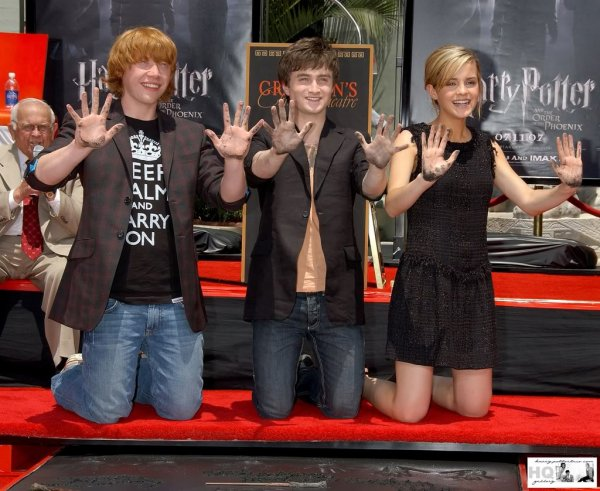 harry potter a hollywood
