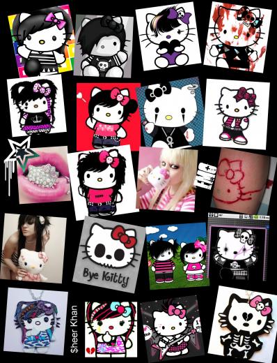 Hello Kitty Emo :3