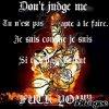 Ne me juge pas !!