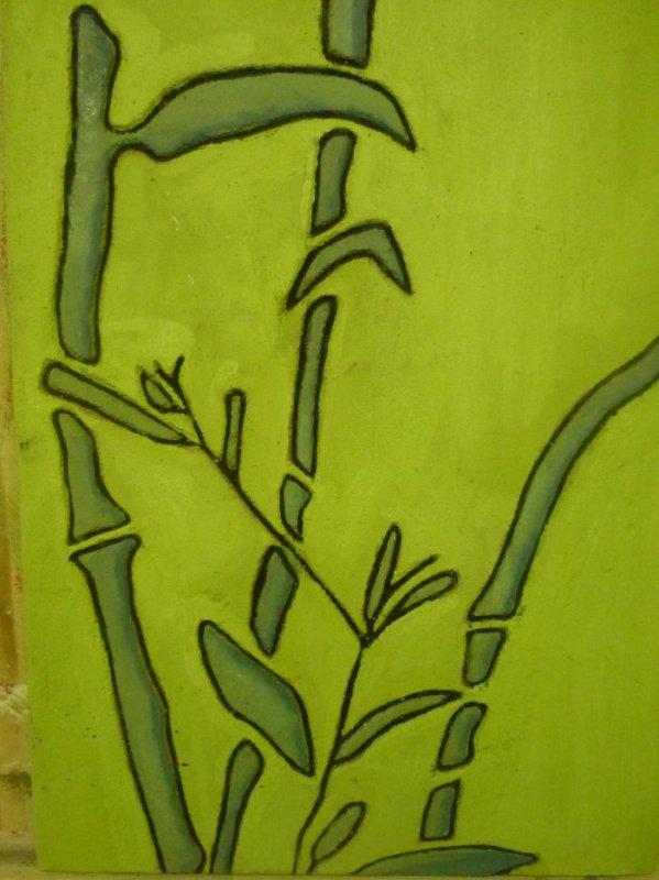 Travail n°8 - Graphisme (bambou)