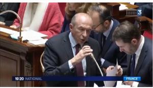 Le ministre français d'l'Intérieur ne se rend pas !
