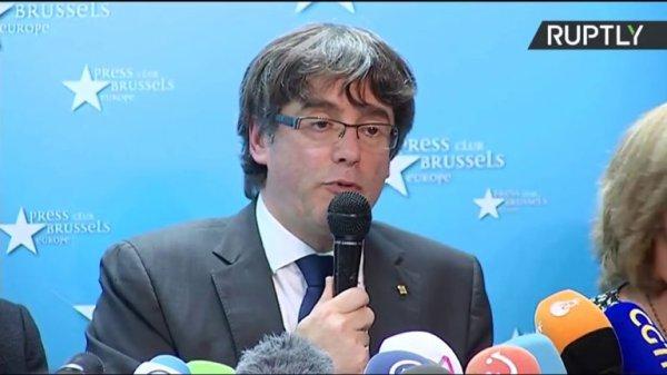 Catalogne : accord des deux grands partis indépendantistes pour investir Puigdemont