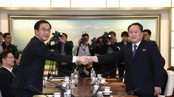 Les deux Corées vont inaugurer les JO-2018 ensemble