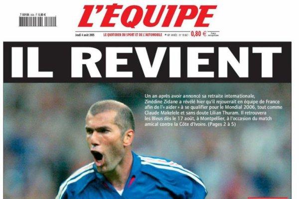 France : le quotidien sportif n'a pas vu le jour
