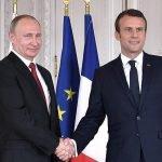 Macron croit que Poutine veut ruiner l'Europe