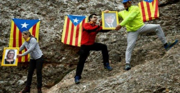 Le camp indépendantiste catalan survit de hautes tensions un an après le référendum