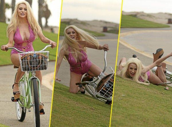 je me propose de lui a prendre a faire du vélo