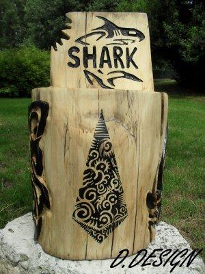 Siège Shark Polynésien