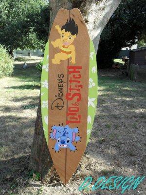 Surfboard Lilo & Stitch