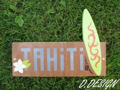 Plaques Surf Hawaii et Tahiti