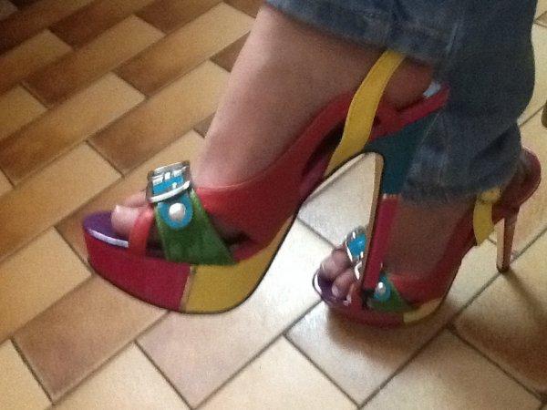 Mes chaussures à talons