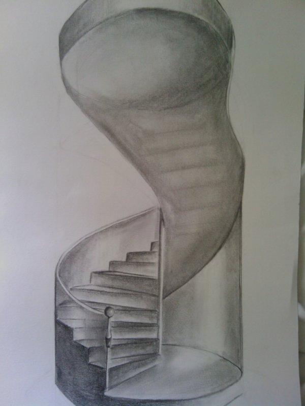 design d'un escalier