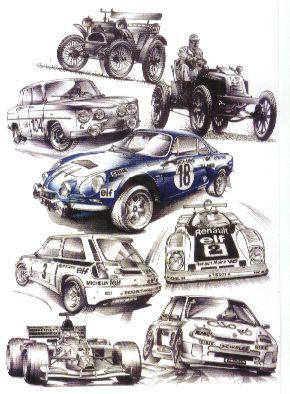 Dessin de voiture de rallye les super truc - Dessin voiture de rallye ...