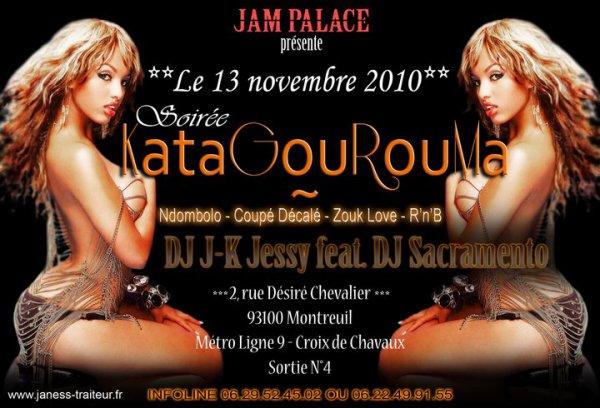 JAM PALACE PRESENTE LE CLUB KATAGOUROUMA A MONTREUIL (REGION PARISIENNE)